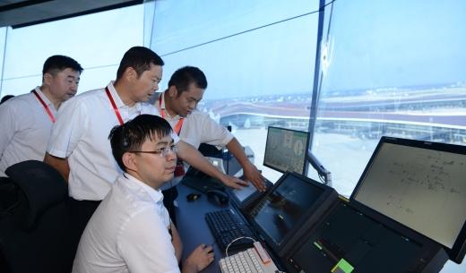 北京大兴国际机场举行投运前第