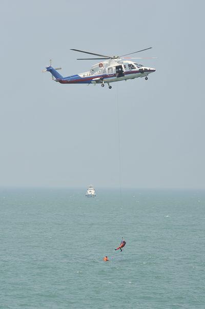 演练模拟了执行北京至福州航班任务的某航空公司航班