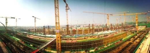 北京新机场工程建设扎实推进
