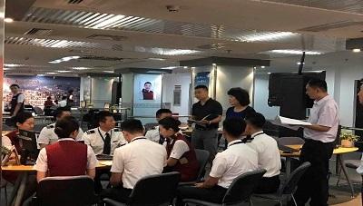 北京监管局对国航客舱部开展安全大检查 - 副本.jpg